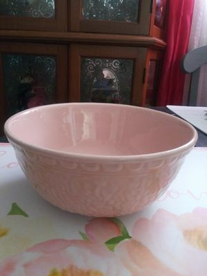 Vintage Haeger Pottery USA 69 Pink Bowl for Sale in Wilmington, CA
