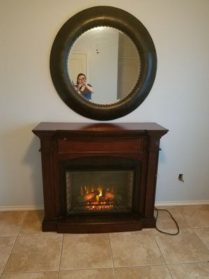 Fire place/ mirror for Sale in Corpus Christi, TX