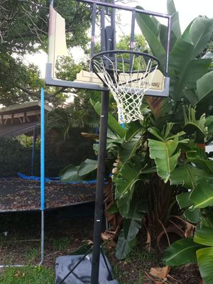 Basketball hoop and stand for Sale in Odessa, FL