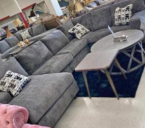 ♦️New ▶️Instock 🌺Ballinasloe Smoke ⚡RAF Sectional ▶️🚚 for Sale in Silver Spring,  MD
