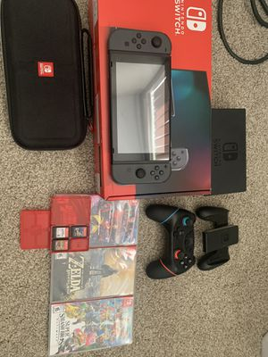 Nintendo switch bundle for Sale in Woodinville, WA