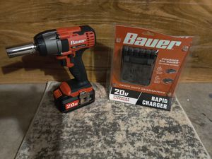 BAUER 3/8 Cordless Impact drill/Battery&Charger for Sale in Tallahassee, FL