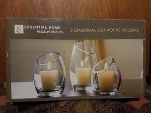 3piece Votive Candle set for Sale in Albuquerque, NM
