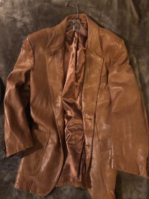 Vintage Leather Sport Coat for Sale in Dallas, TX