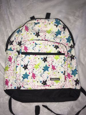 White paint spotted Yak Pak backpack for Sale in Las Vegas, NV