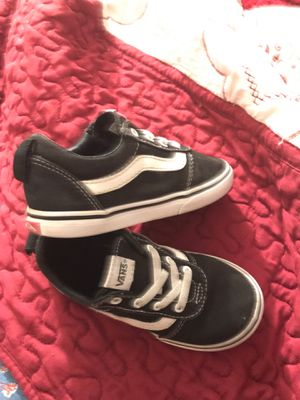 Shoes vans for boys size 10 for Sale in Corona, CA