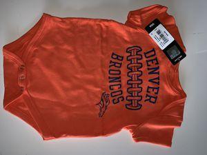 Denver Broncos nfl onesie 18month for Sale in Killeen, TX