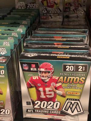 2020 Panini Mosaic NFL Football Sealed Mega Box Factory Sealed for Sale in Orlando, FL