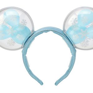 Mickey Mouse Snowflake Balloon Light-Up Ears Headband For Adult for Sale in Tustin, CA
