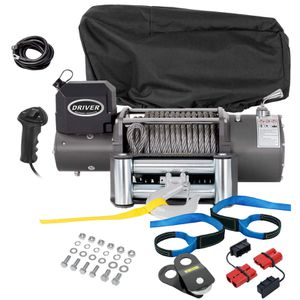 Electric Wireless Winch Combo Kit + Accessories - 17,000 lb for Sale in Tamarac, FL
