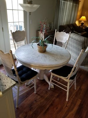 White oak dining table and wine rack for Sale for sale  Decatur, GA