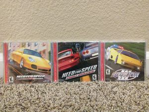 Lot of 3 Need For Speed PC CD-Rom Games for Sale in Modesto, CA