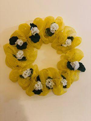 Handmade spring wreath for Sale in Ashburn, VA