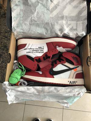 Jordan 1 Off White Chicago for Sale in Davie, FL