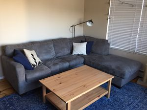Grey Sectional Couch for Sale in San Francisco, CA