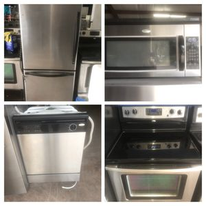 Investors Stainless steel kitchen appliance package for Sale in Winter Park, FL