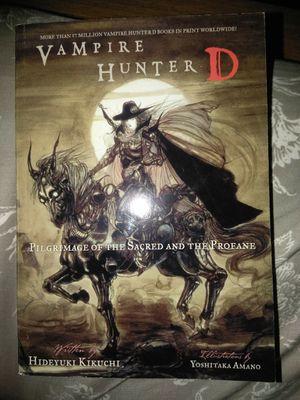 Vampire Hunter d pilgrimage of the sacred and the profane for Sale in Newnan, GA