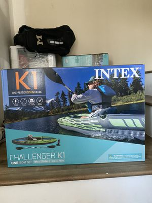 Brand new Intex Challenger K1 Kayak for Sale in Mount Ulla, NC