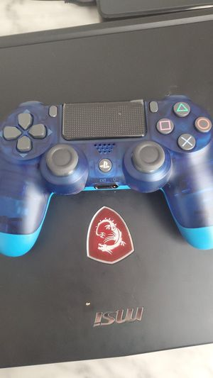 Crystal Blue PS4 Controller-Limited Edition for Sale in North Ridgeville, OH