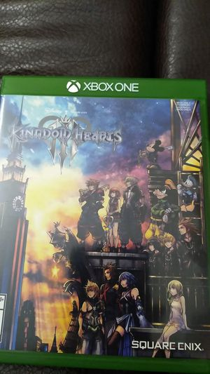 Xbox One Kingdom Hearts III for Sale in Ontario, CA