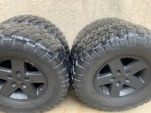 BFG Mud Terrain Tires and Jeep Wheels for Sale in Rancho Cucamonga, CA