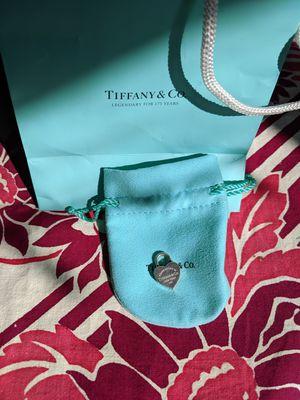 Tiffany silver heart lock pendant for Sale in San Francisco, CA
