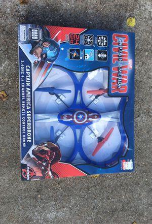 "Drone ""Gigantic"" World Tech Toys captain America Civil War Stunt drone. for Sale in Houston, TX"