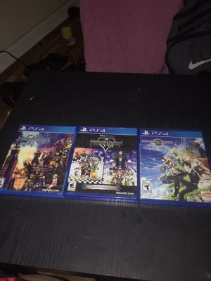2 Kingdom hearts, sword art online 🎮 for Sale in Bridgeport, CT