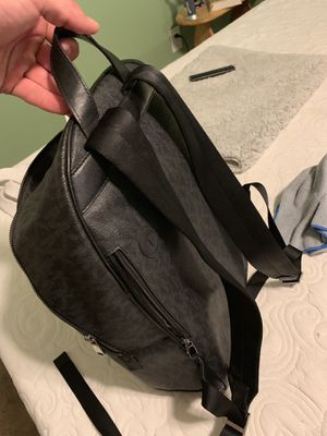 Michael Kors black leather backpack for Sale in Portland, ME