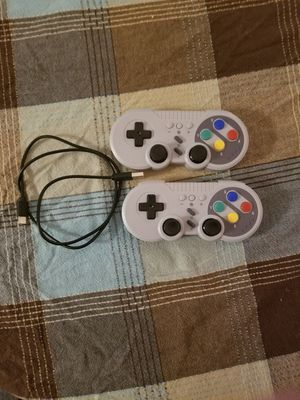 Nintendo switch SNES bluetooth controllers for Sale in Akron, OH