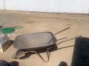 All Metal Wheelbarrow for Sale in Hemet, CA