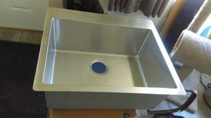 Elkay stainless universal sink 2 left for Sale in Evanston, IL