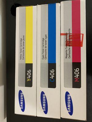 Samsung Original Printer Cartridges CYM 406 for Sale in Boston, MA