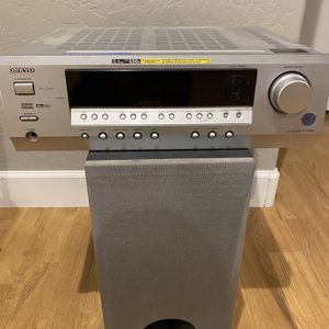 Onkyo Surround Sound With Sub Woofer for Sale in Gilbert, AZ