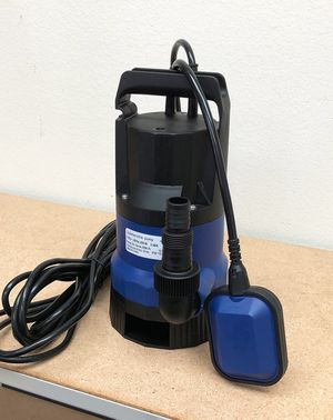 New $40 Submersible 1/2 HP 2112GPH 400W Water Pump Swimming Pool Dirty Flood Clean Pond for Sale in South El Monte, CA