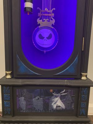 The nightmare before Christmas grandfather clock for Sale in Snellville, GA