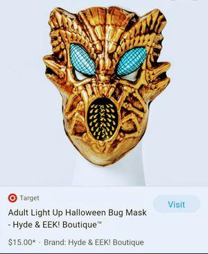 Hyde&Eek light up bug mask for Sale in Glendale, AZ