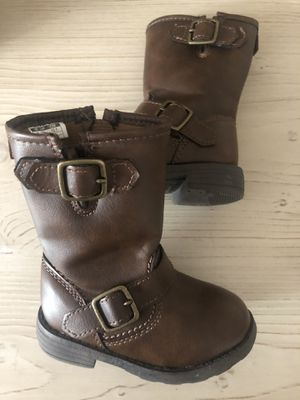 Carters Baby girl boots 5 for Sale in Turlock, CA