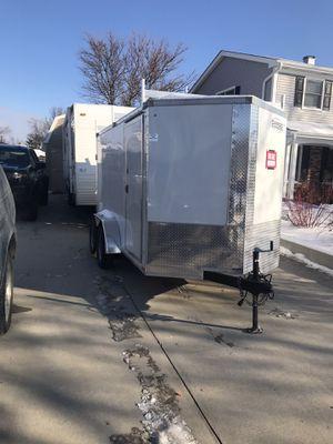 6x12 dual axle box trailer for Sale in Schaumburg, IL