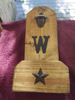Personalized wooden bottle opener for Sale in Rustburg, VA