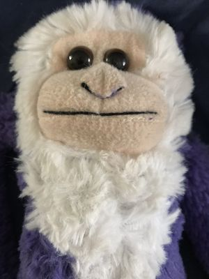 Soft and sweet monkey with Velcro legs for Sale in Silver Spring, MD