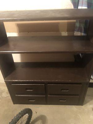 wooden bookshelf/storage for Sale in Ridgeland, MS