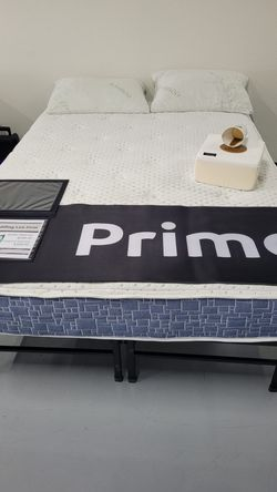 Mattress Sale! All Sizes Available! Luxury Firm Mattress Made in The USA! Pocket Coil Twin Full Queen King Cali Bed In A Box PLEASE READ DESCRIPTION for Sale in Chula Vista,  CA