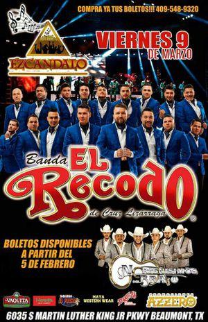 Banda el Recodo for Sale in Beaumont, TX