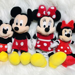 Disney Minnie Mouse Mickey Mouse Plush Toys for Sale in Largo, FL