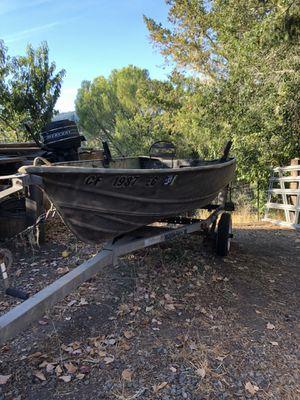 14' Gregor Aluminum Boat for Sale in San Rafael, CA