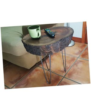 Live-Bark Unique Rustic Contemporary Handcrafted Solid Mahogany Coffee Table. Related to dining table patio gazebo backyard patio furniture tiki hut for Sale in Miami, FL