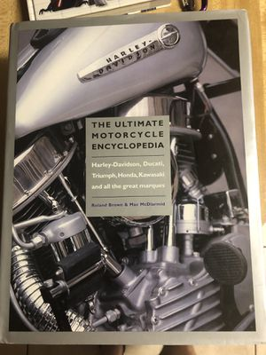 The ultimate Motorcycle encyclopedia including Harley Davidson , Ducati,Triumph,Honda, Kawasaki, asking 15 firm over 500 pages in N Lakeland for Sale in Lakeland, FL