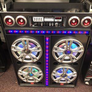 PA Subwoofer X4 🔊 🎶 Karaoke 🎤 for Sale in Springfield, VA