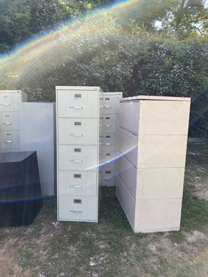 Office furniture and file cabinets for Sale in Longview, TX